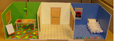 Freed et al. used a doll house to investigate how children think about remote communication. This image is from their paper and belongs to the authors.